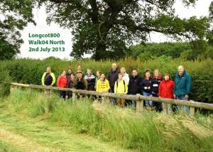 Longcot village walk 4 - Jul 2013