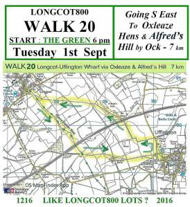 Walk 20 1st September 2015